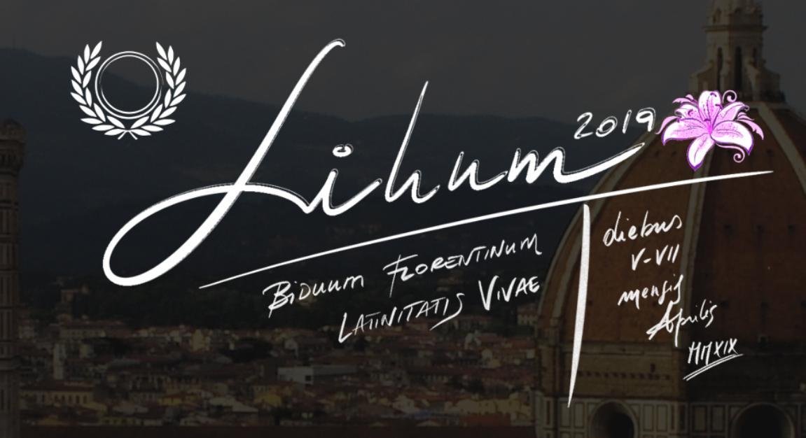 LILIVM 2019 - BIDVVM FLORENTINVM LATINITATIS VIVÆ